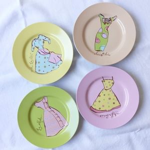 ROSANNA  'Stylish Women' Dessert Plate Set…